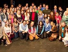 Sandra E. Hardy Theatre Scholarship Fund