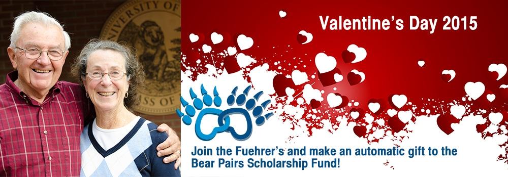 Bear Pair Scholarship Fund Graphic
