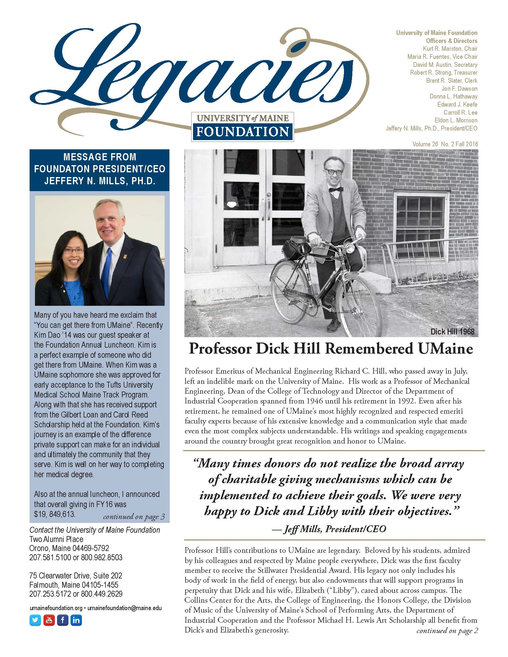 Link to Legacies Newsletter F2016