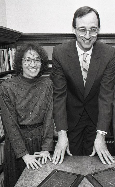 Kristin Langellier and Eric Peterson photo