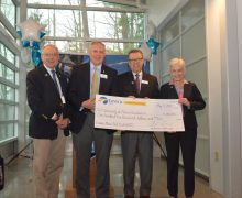 Emera Maine Prof. Richard C. Hill Scholarhip check