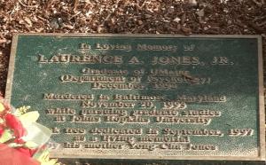 Jones Memorial Plaque