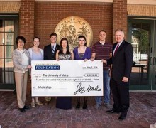 University of Maine Foundation Scholarship Support at Record High of Over $4.1Million