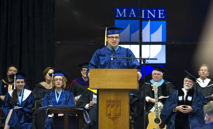 Commencement at UMaine