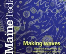 Cover of UMaine Today Spring 2015 issue