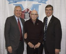 Photo of Jeff Mills, Dr. Buchanan and John Diamond