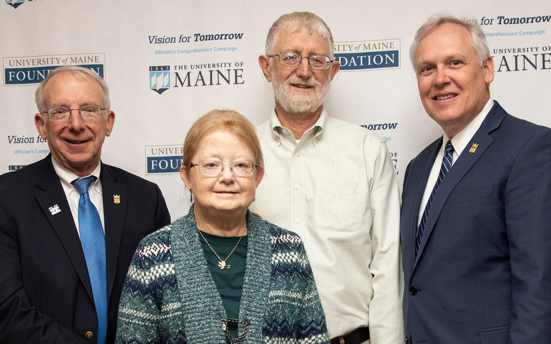 Record fundraising and $1 million pledge announced by University of Maine Foundationat annual luncheon