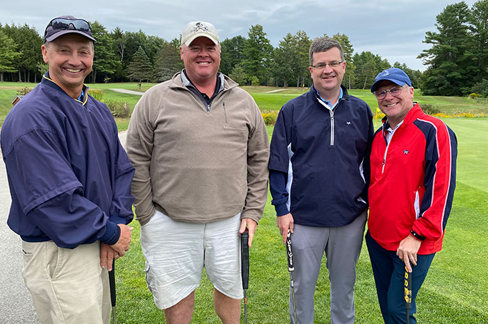 University of Maine Alumni Chapter of Southern Maine hosts annual golf classic