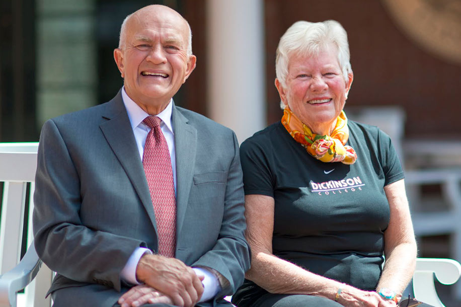 Loyal Benefactors, Dan '63 and Betty Churchill, Announce $6.5 Million Bequest Expectancy at University of Maine Foundation Event